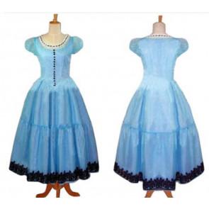 Alice in Wonderland 2010 Cosplay Costume Dress