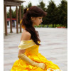 Classic Belle Hair Wig Cosplay