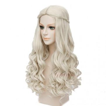 White Queen Alice in Wonderland Hair Wig