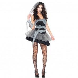 Halloween Ghost Bride Women's Costume