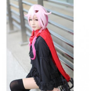 Anime Guilty Crown Inori Yuzuriha Black Short Mini Dress Cosplay Costume