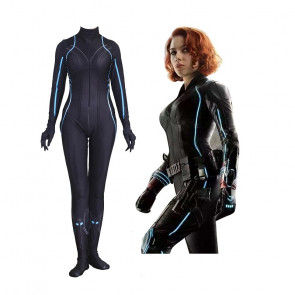 Black Widow Lycra Cosplay Costume