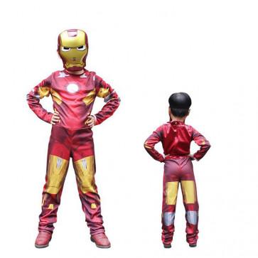 Marvel Avengers Boys Iron Man Costume
