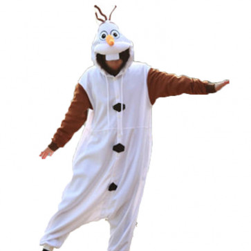 Disney Snowman Olaf Cosplay Costume For Adults Halloween Costume