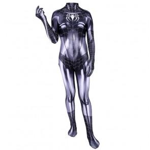 Black Cat Symbiote Lycra Cosplay Costume