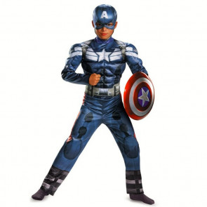 Avengers 2 Age of Ultron Child's Deluxe Captain America Costume