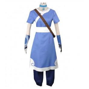 Avatar The Last Airbender Katara Blue Cosplay Costume