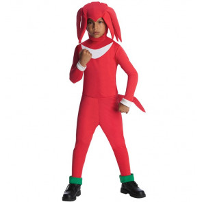 Boy's Knuckles Sonic Costume