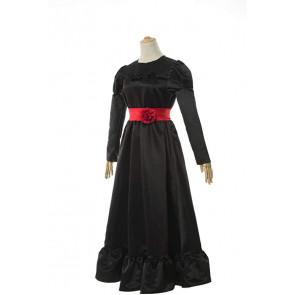 Annabelle Black Dress Cosplay Costume
