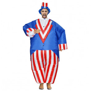 Inflatable Uncle Sam Costume