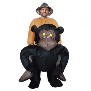 Inflatable Gorilla Costume