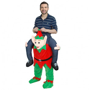 Inflatable Elf Carrying Costume