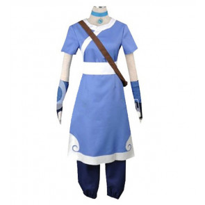 Avatar The Last Airbender Katara Blue Cosplay Costume