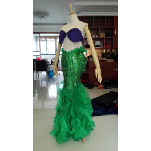 Adult Ariel Mermaid Fin Costume