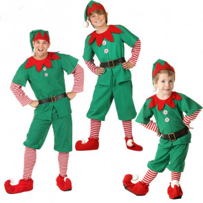 Boys and Men Elf Costume