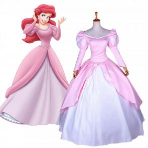 Ariel Pink Dress Costume Cosplay