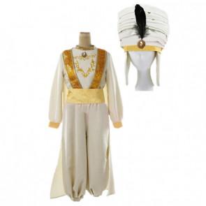 Boys Aladdin 2019 Prince Ali Cosplay Costume