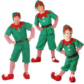 Boys and Men Elf Costume