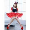 Minnie Mouse Women Halloween Costume