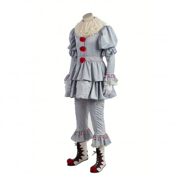 Pennywise the Clown It Complete Cosplay Costume