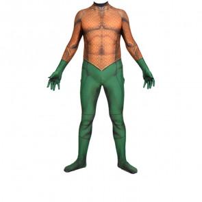 Aquaman Cosplay Costume Lycra