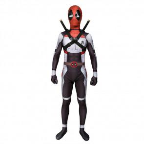 Boys Deadpool Avengers Endgame Suit Cosplay Costume