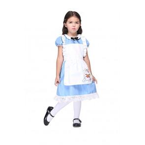 Alice in Wonderland Girls Costume