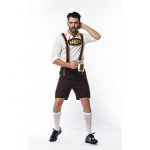 Bavarian Oktoberfest Beer Mens Costume