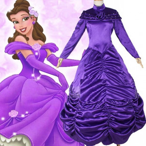 Belle Dress In Purple