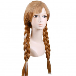 Anna Frozen Hair Wig For Adults