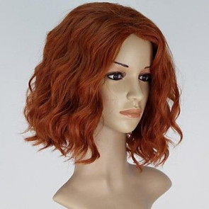 Black Widow Avengers Hair Wig Cosplay