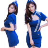 Sexy Stewardess Womens Cosplay Costume