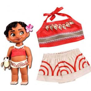 Baby Toddler Moana Costume