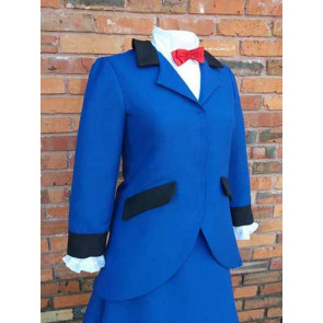Blue Mary Poppins Costume