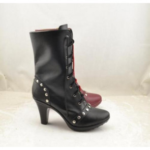Harley Quinn Suicide Squad Cosplay Boots