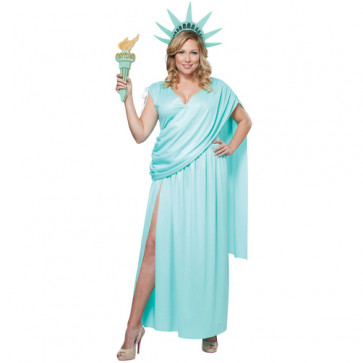 Statue of Liberty Lady Liberty Complete Cosplay Costume