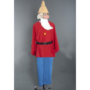 Grumpy Snow White and The Seven Dwarfs Cosplay Costume