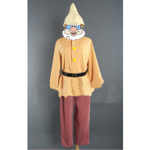 Happy Snow White and The Seven Dwarfs Cosplay Costume