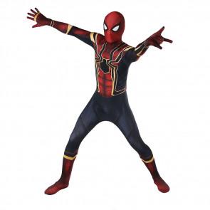 Iron Spider Man Spiderman Complete Cosplay Costume