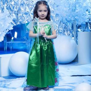 Girls Anna Green Dress Costume Dress