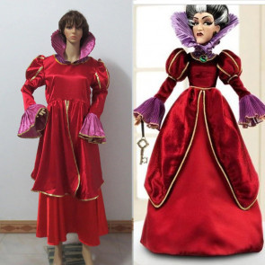 Wicked Stepmother Red Dress Costume