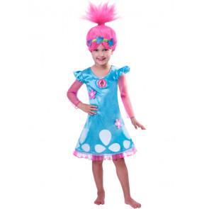 Poppy Trolls Hair Wig for Girls