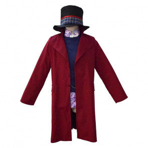 Charlie and the Chocolate Factory Cosplay Willy Wonka Costume