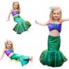 Niñas Ariel Sirena Vestido De Traje