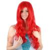 Ariel Sirena Peluca De Pelo Rojo Para Adultos
