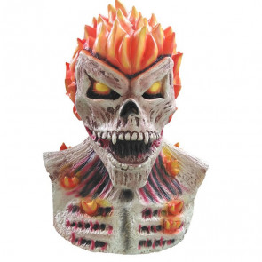 Blazing Skull Cosplay Mask
