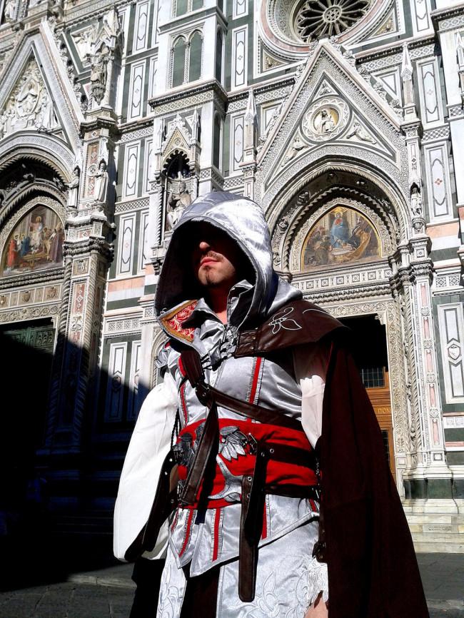 Assassin S Creed Ezio Auditore Da Firenze Cosplay Costume