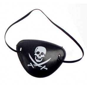 Halloween Pirate Eye Patch Mask Costume