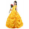 Disney Belle Princess Dress Costume Cosplay Outfit For Children and Adults Halloween Costume