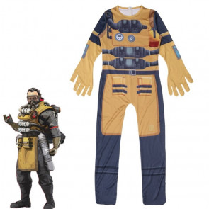 Apex Legends Caustic Cosplay Costume